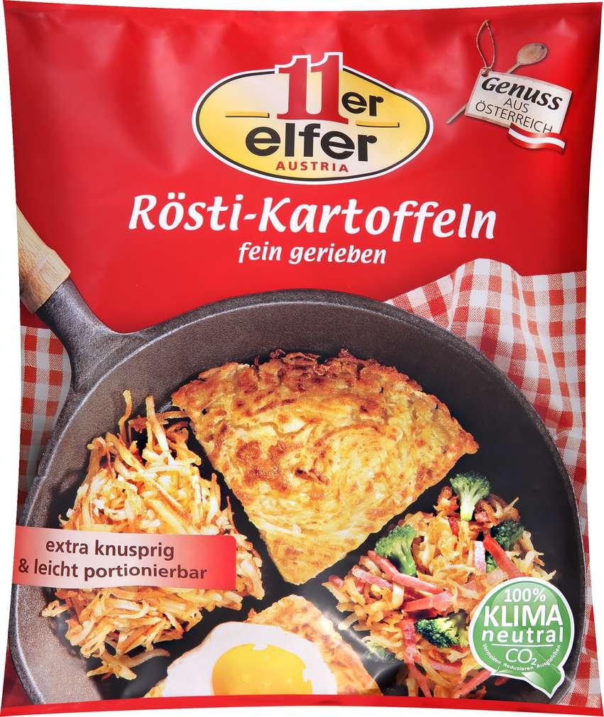 Abbildung des Sortimentsartikels Elfer Rösti Kartoffeln fein gerieben 500g