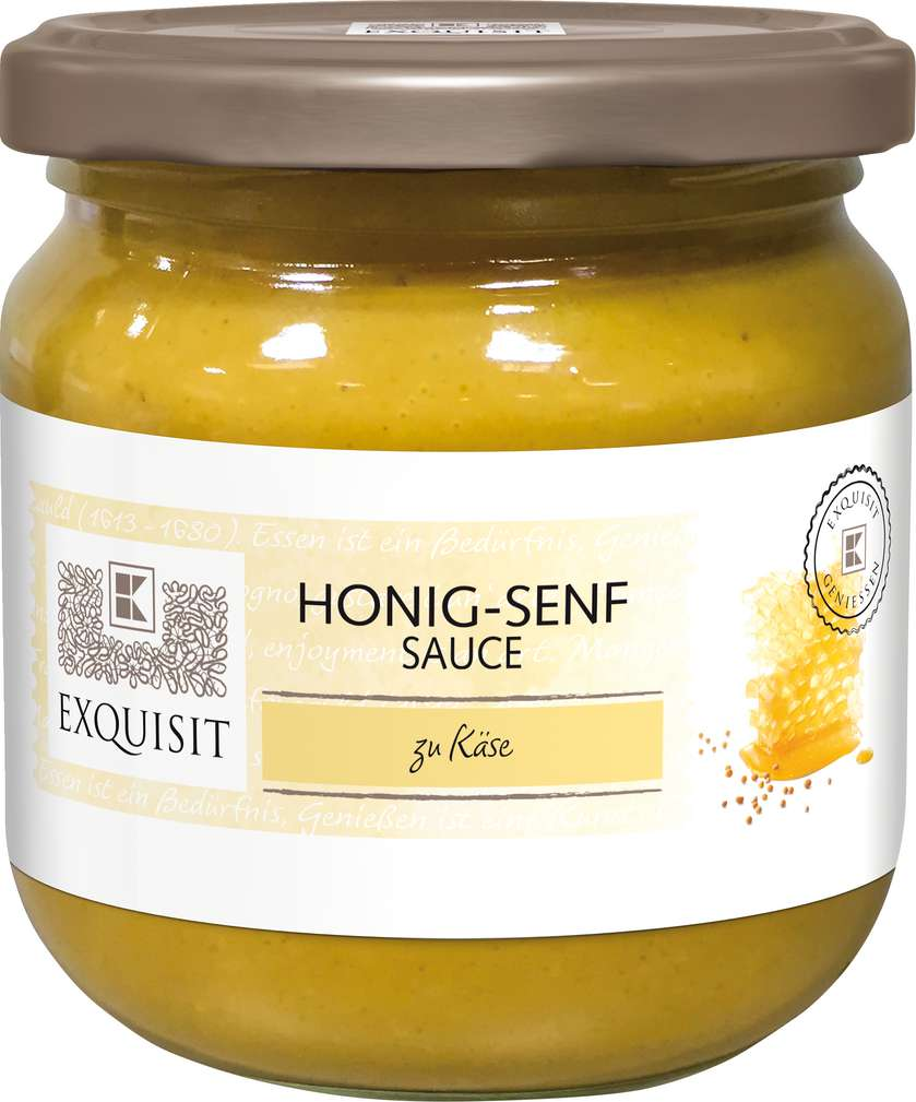 Abbildung des Sortimentsartikels Exquisit Honig-Senf-Sauce 200ml