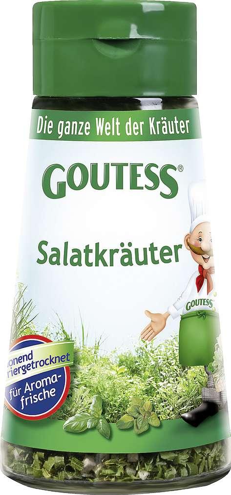 Abbildung des Sortimentsartikels Goutess Salatkräuter 18g