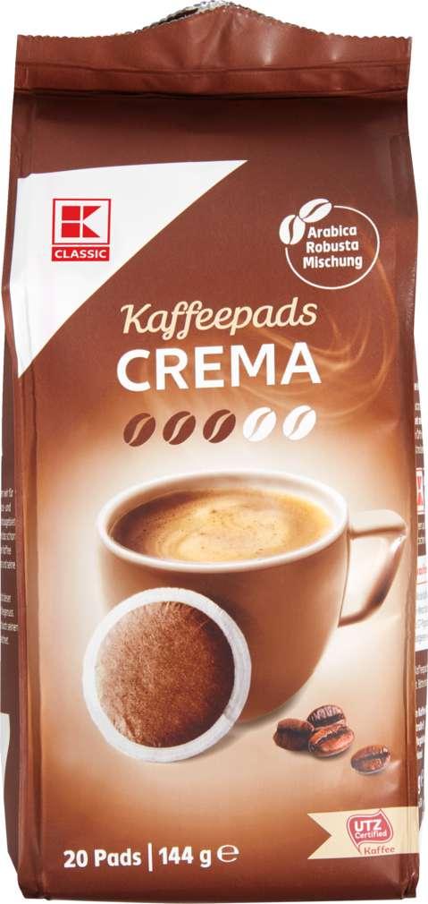 Abbildung des Sortimentsartikels K-Classic Cafè Allegro Crema 20 Pads 144g