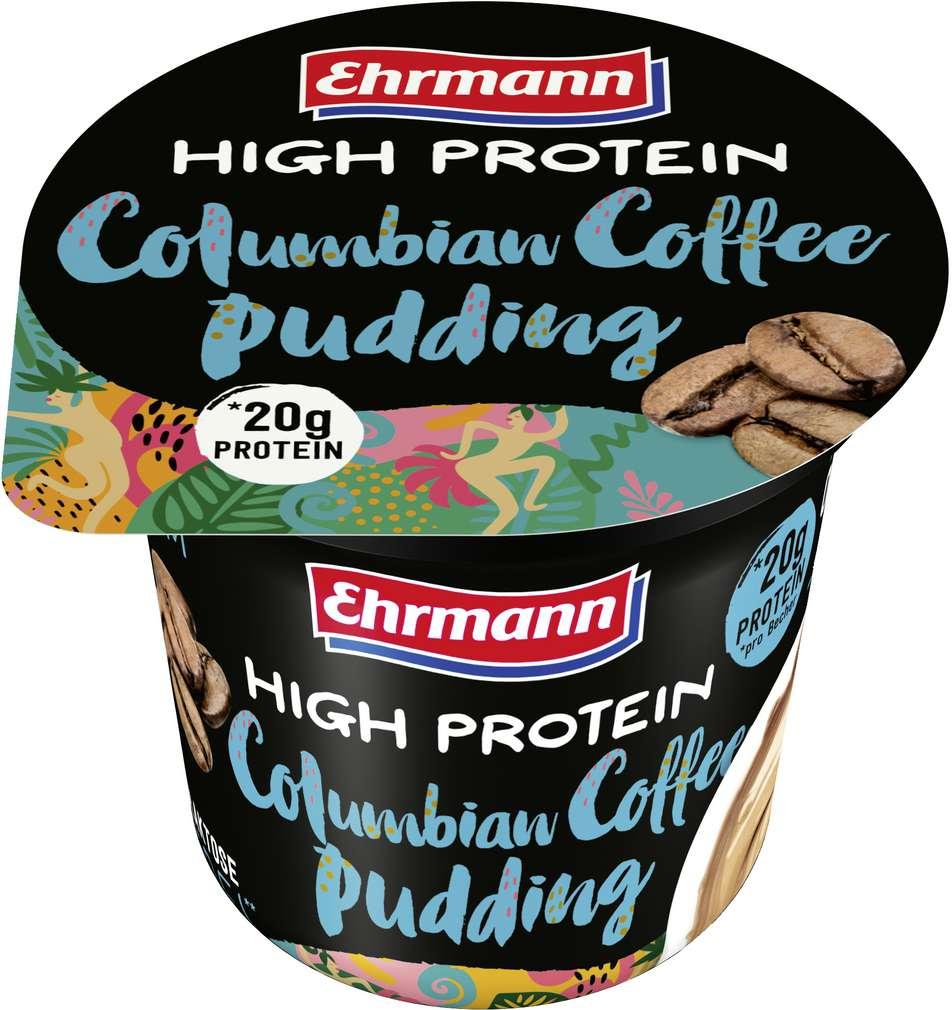 Abbildung des Sortimentsartikels Ehrmann Protein Pudding Columbian Coffee 200g