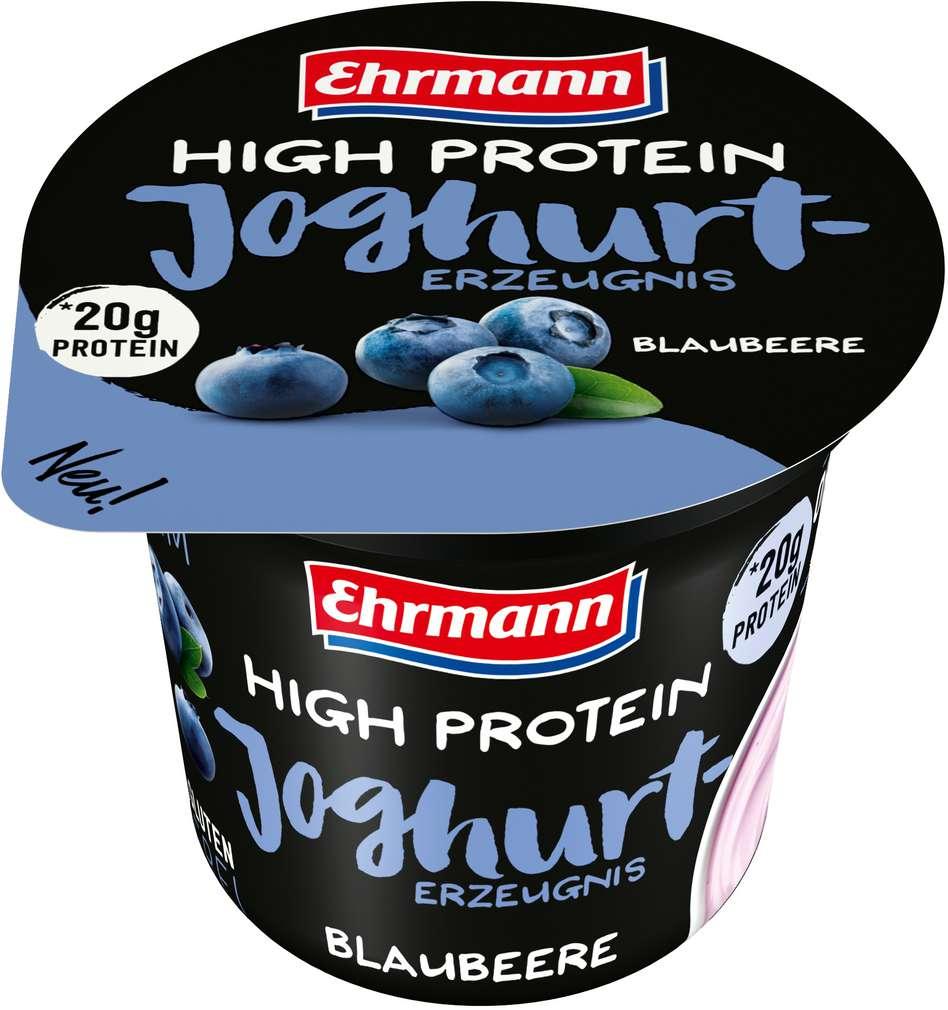 Abbildung des Sortimentsartikels Ehrmann Protein Joghurt Blaubeere 200g