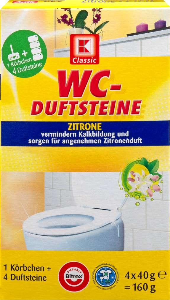 Abbildung des Sortimentsartikels K-Classic WC-Duftstein Zitrone 4x40g