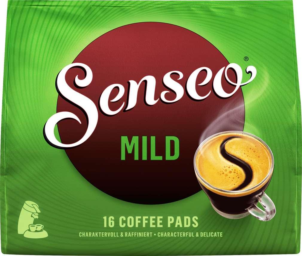 Abbildung des Sortimentsartikels Senseo Pads Mild 111g, 16 Stück
