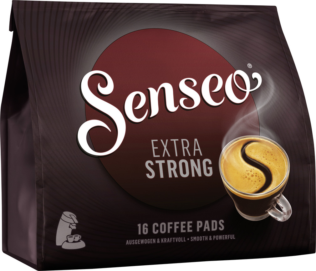 Abbildung des Sortimentsartikels Senseo Pads Extra Strong 111g, 16 Stück