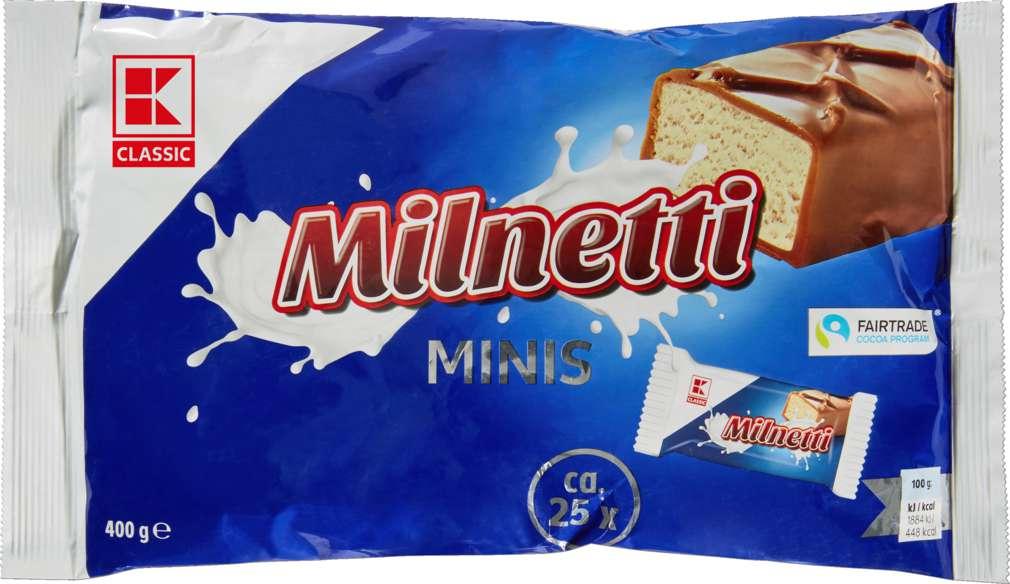 Abbildung des Sortimentsartikels K-Classic Schokoriegel Mini Milk Candy 400g