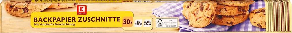 Abbildung des Sortimentsartikels K-Classic Backpapier Zuschnitte ca. 38x42cm 30 Blatt