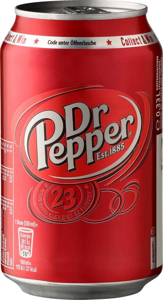 Abbildung des Sortimentsartikels Dr. Pepper 0,33l