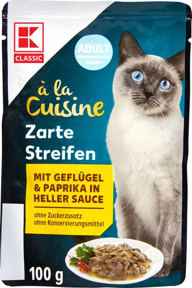 Abbildung des Sortimentsartikels K-Classic Katzennahrung Geflügel und Paprika 100g
