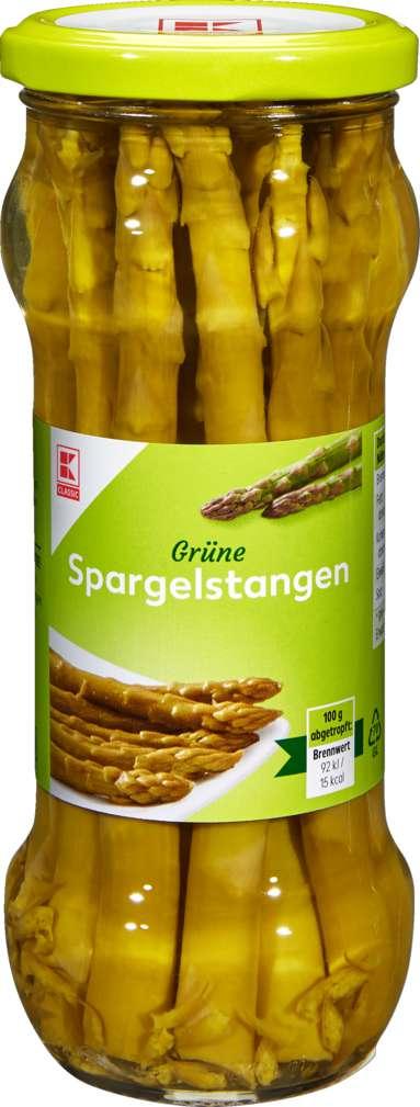 Abbildung des Sortimentsartikels K-Classic Grüner Spargel 330g