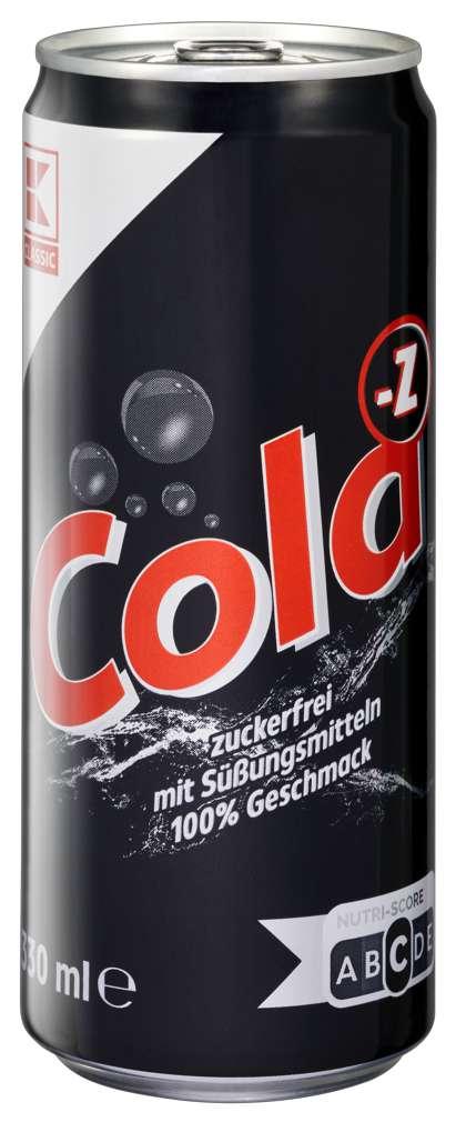 Abbildung des Sortimentsartikels K-Classic Cola Zero 0,33l
