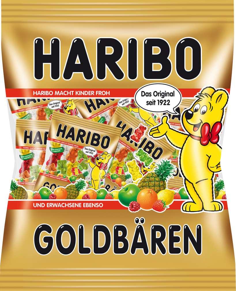 Abbildung des Sortimentsartikels Haribo Goldbären Minis 250g