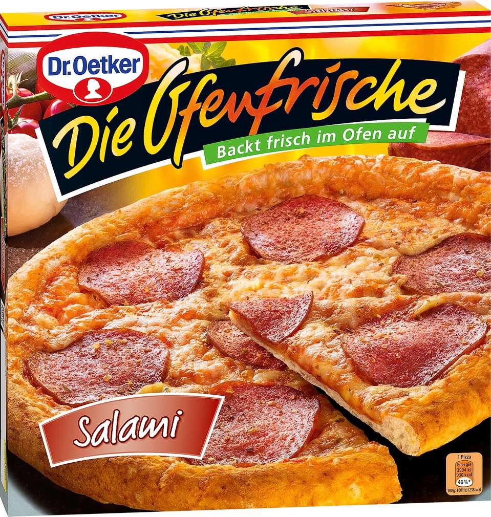 Abbildung des Sortimentsartikels Dr. Oetker Die Ofenfrische Pizza Salami 390g