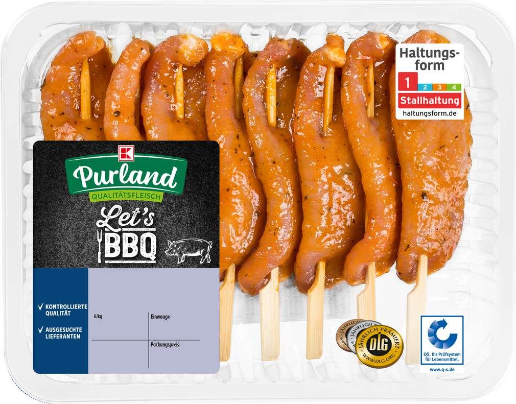 Abbildung des Sortimentsartikels K-Purland Saté - Spieße vom Schwein