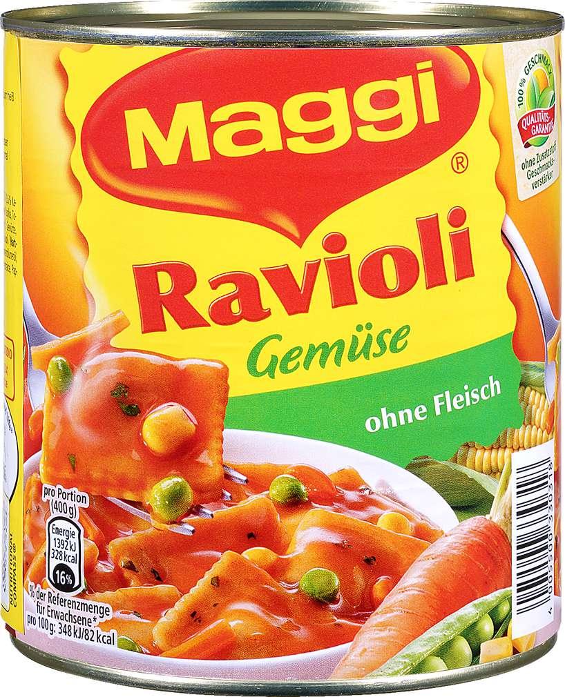 Abbildung des Sortimentsartikels Maggi Ravioli Gemüse 800g