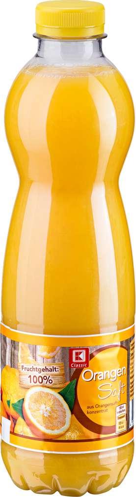 Abbildung des Sortimentsartikels K-Classic Orangensaft 1l