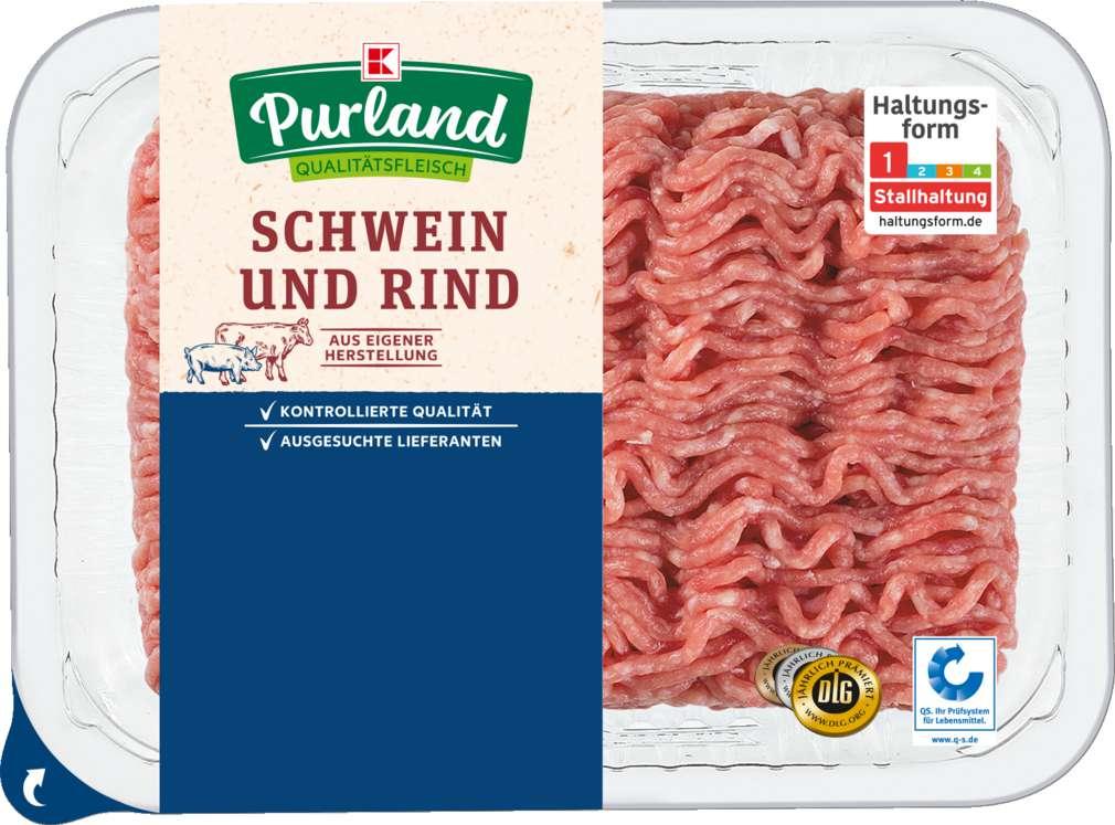 Abbildung des Sortimentsartikels K-Purland Hackfleisch gemischt 500g