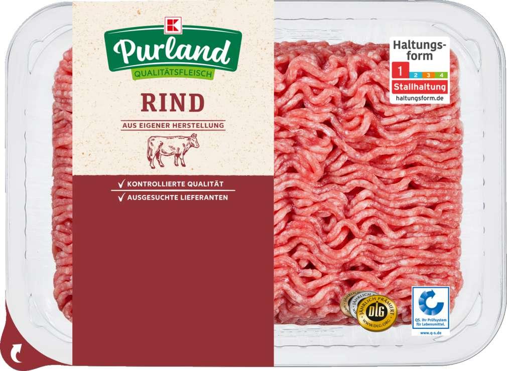 Abbildung des Sortimentsartikels K-Purland Rinderhackfleisch 500g
