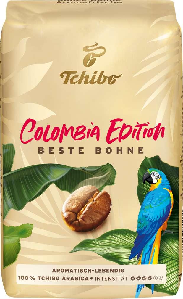 Abbildung des Sortimentsartikels Tchibo Beste Bohne Röstkaffee ganze Bohnen