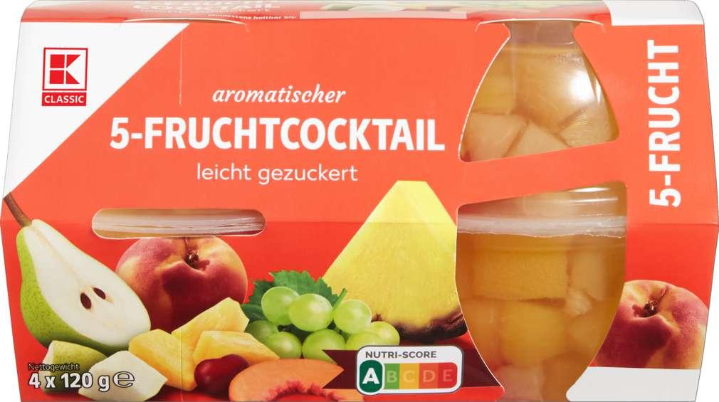 Abbildung des Sortimentsartikels K-Classic Fruchtcups Klassik leicht gezuckert 4x120g