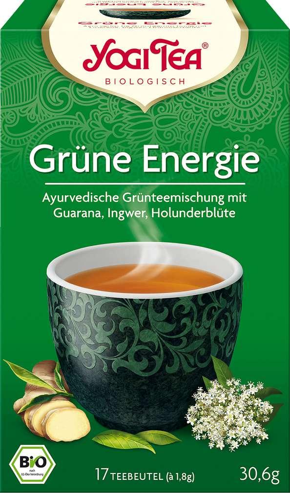 Abbildung des Sortimentsartikels Bio Yogi Tee Bio Grüne Energie 17x1,8g