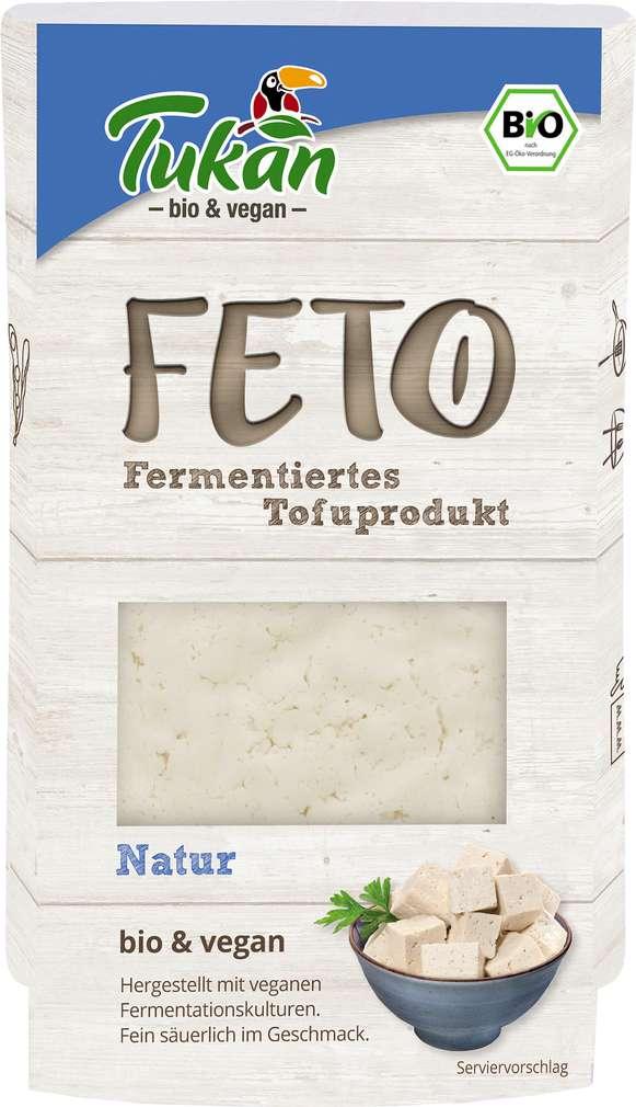 Abbildung des Sortimentsartikels Tukan Bio-Feto natur Tofu