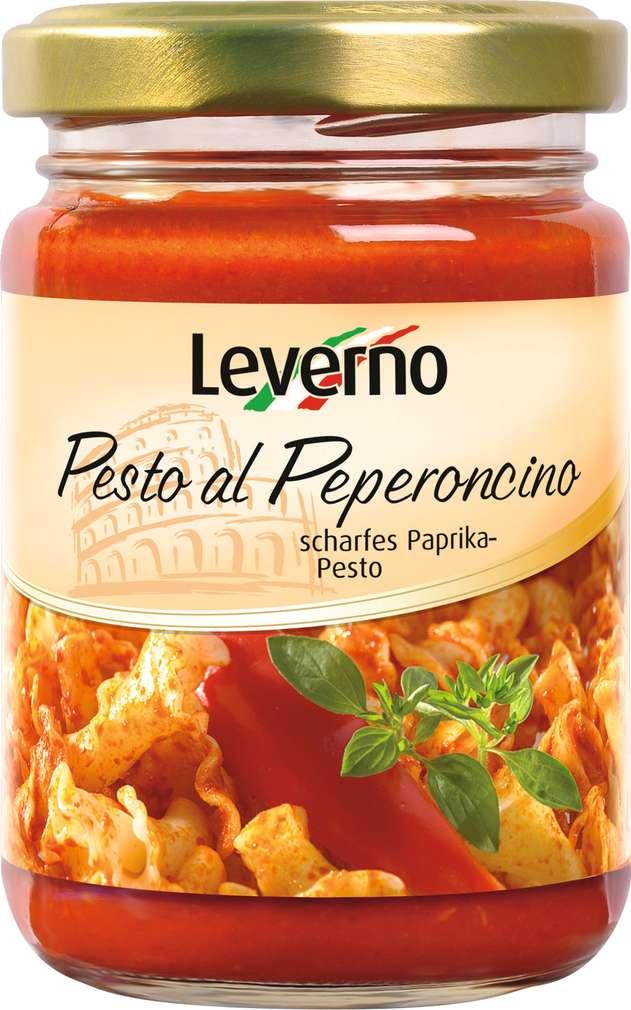 Abbildung des Sortimentsartikels Leverno Pesto Di Peperoncino 130g