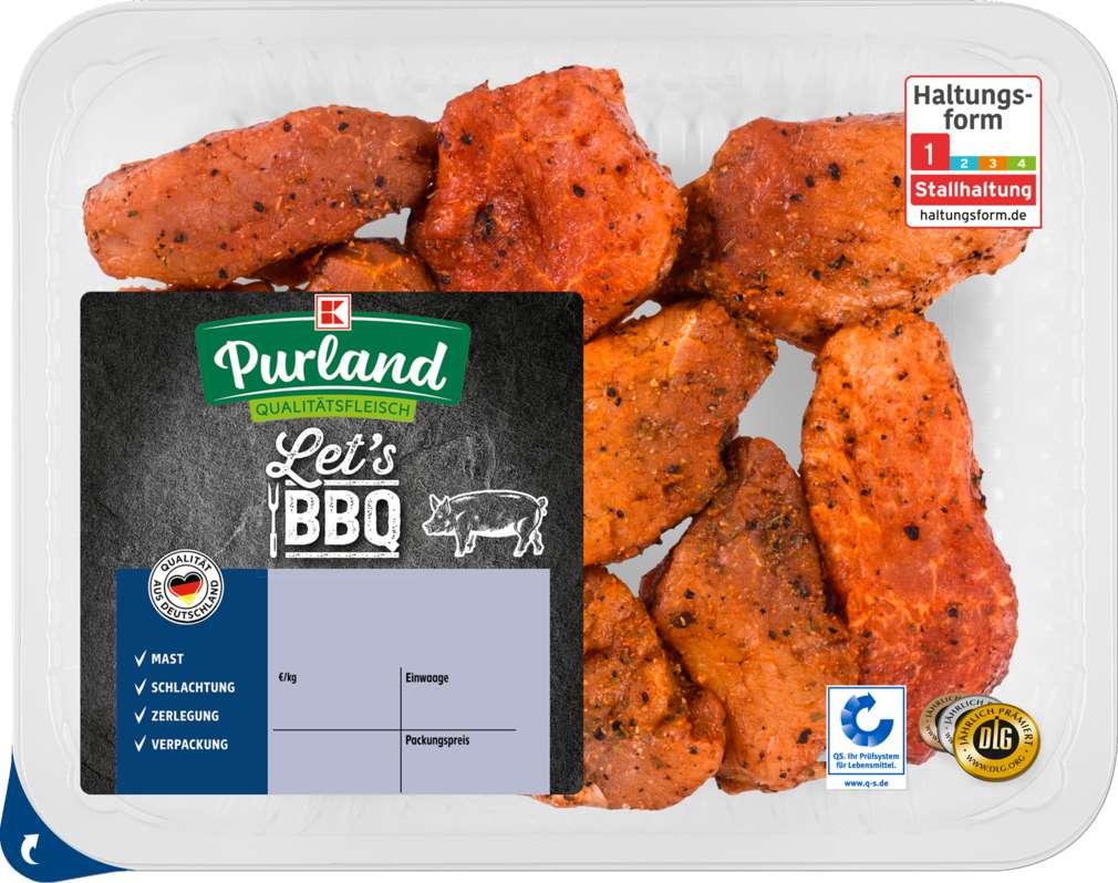 Abbildung des Sortimentsartikels K-Purland Let´s BBQ Medaillons vom Schwein gewürzt