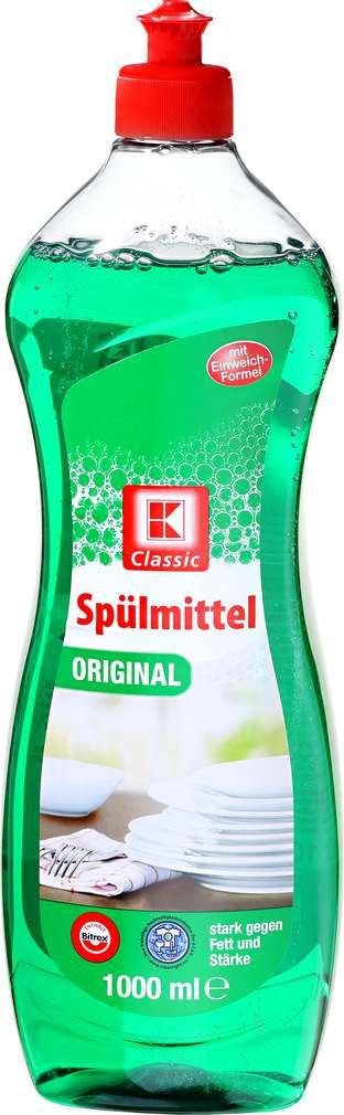 Abbildung des Sortimentsartikels K-Classic Spülmittel Original 1l
