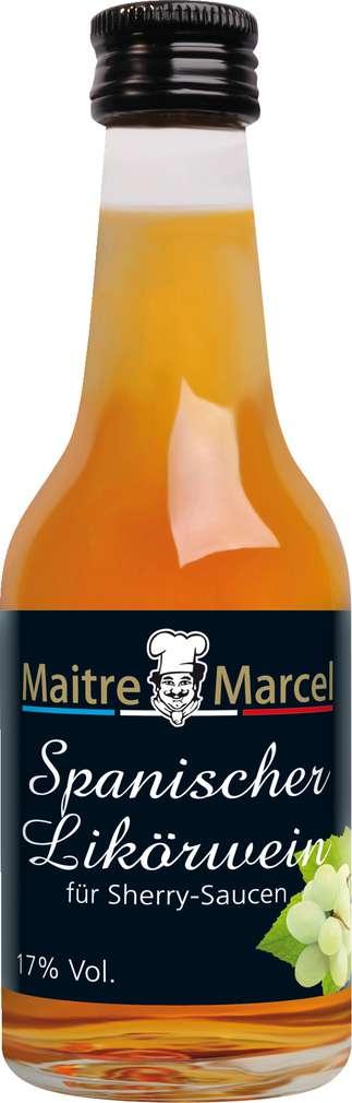 Abbildung des Sortimentsartikels Maitre Marcel Sherry 17%-Vol. 100ml