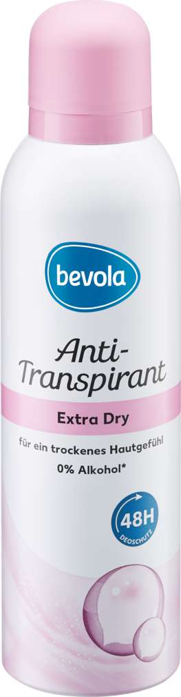 Abbildung des Sortimentsartikels Bevola Anti-Transpirant Extra Dry 200ml