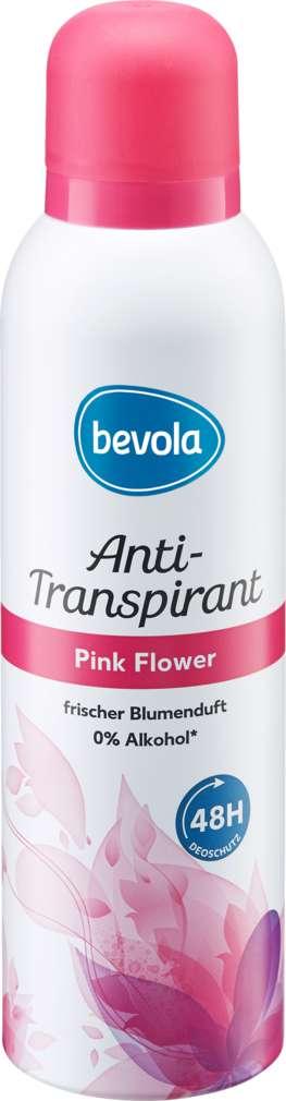 Abbildung des Sortimentsartikels Bevola Anti-Transpirant Pink Flower 200ml