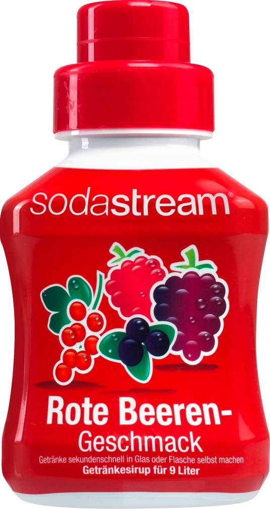 Abbildung des Sortimentsartikels SodaStream Sirup Red Berry Mix 375ml