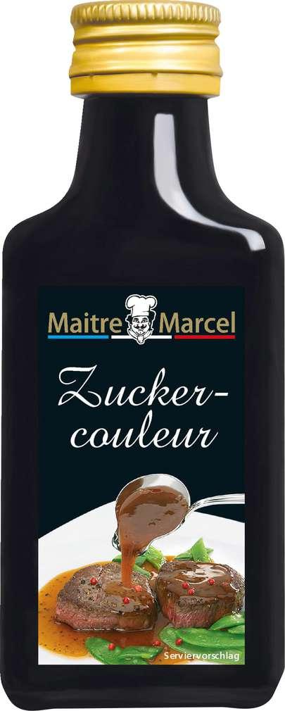 Abbildung des Sortimentsartikels Maitre Marcel Zuckercouleur 40ml