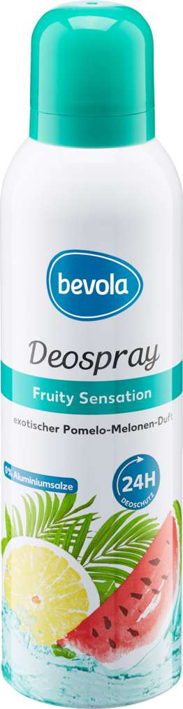 Abbildung des Sortimentsartikels Bevola Deospray Fruity Sensation 200ml
