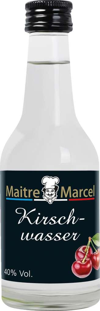Abbildung des Sortimentsartikels Maitre Marcel Kirschwasser 40%-Vol. 100ml