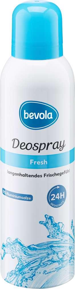 Abbildung des Sortimentsartikels Bevola Deospray Fresh 200ml