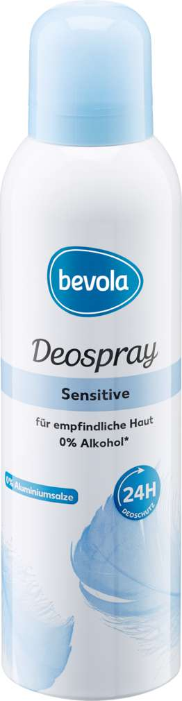 Abbildung des Sortimentsartikels Bevola Deospray Sensitive 200ml