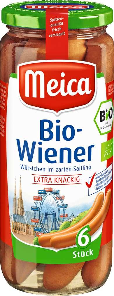 Abbildung des Sortimentsartikels Meica Bio-Wiener Würstchen 250g
