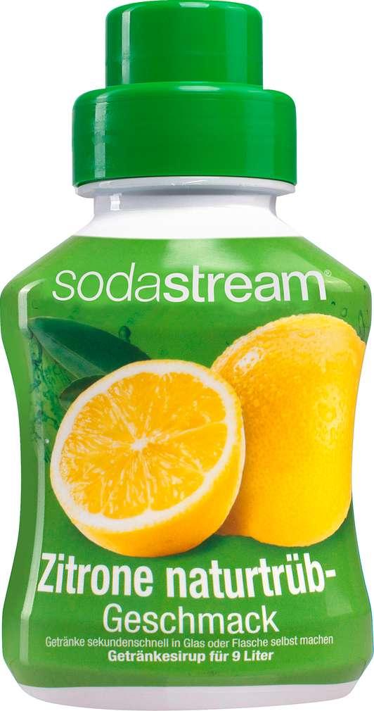 Abbildung des Sortimentsartikels SodaStream Sirup Zitrone trüb 375ml