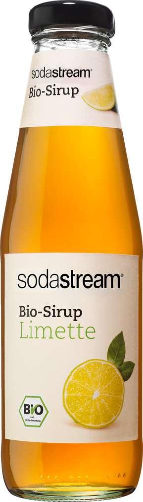 Abbildung des Sortimentsartikels SodaStream Bio-Sirup Limette 500ml