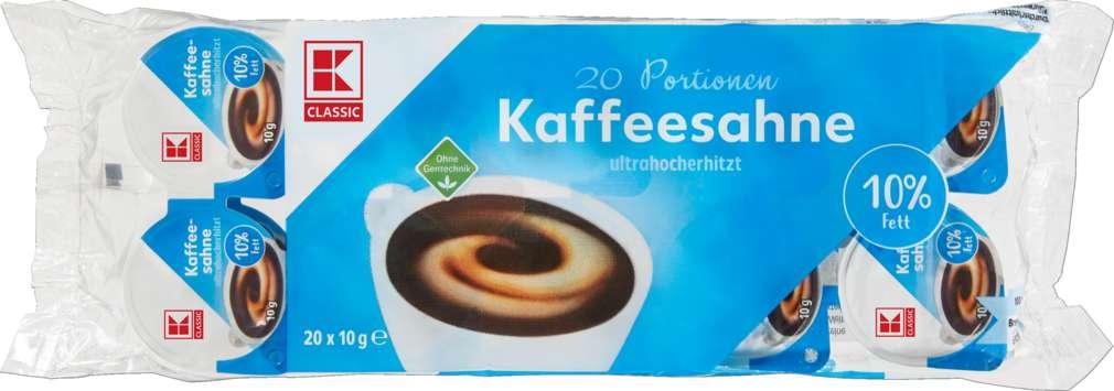 Abbildung des Sortimentsartikels K-Classic Kaffeesahne 10% Fett 20x10g