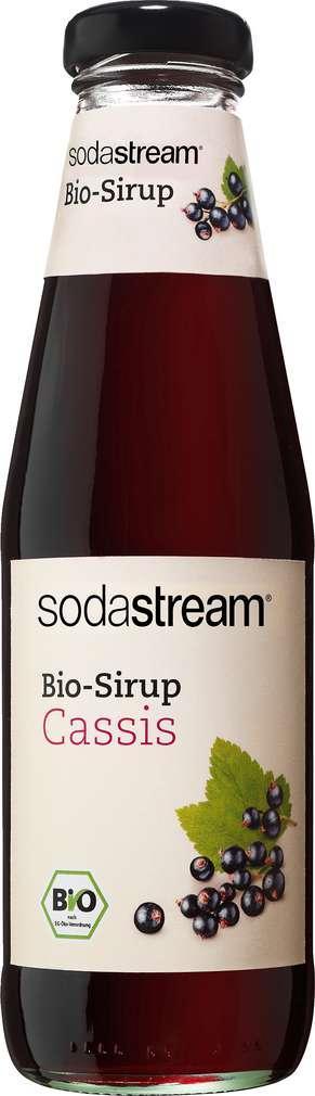 Abbildung des Sortimentsartikels SodaStream Bio-Sirup Cassis 500ml