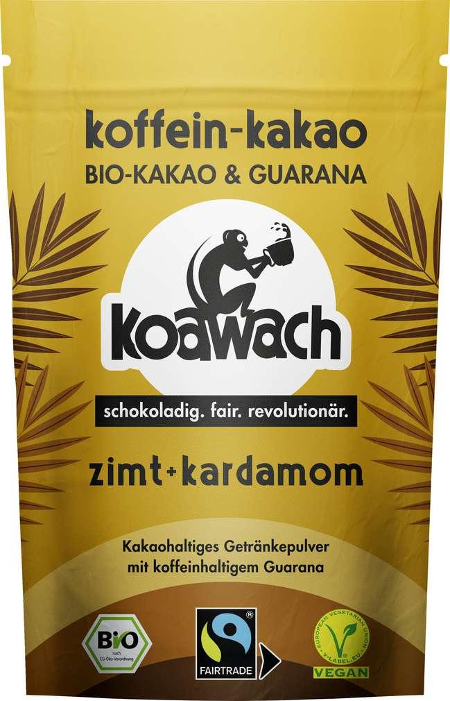 Abbildung des Sortimentsartikels Koawach Kakao Zimt und Kardamom 100g