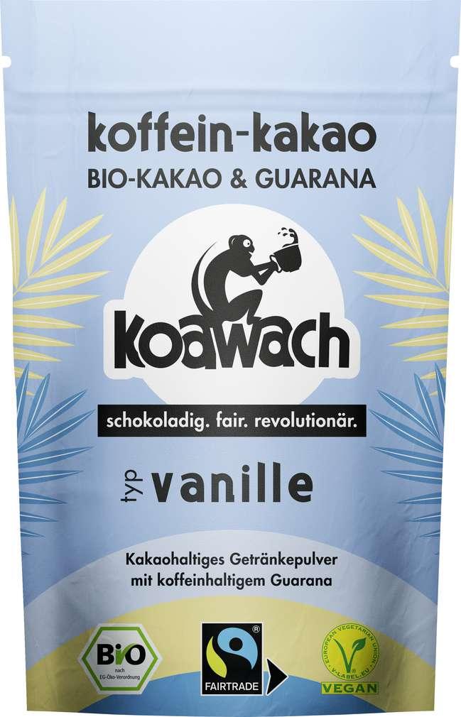Abbildung des Sortimentsartikels Koawach Kakao Vanille 100g