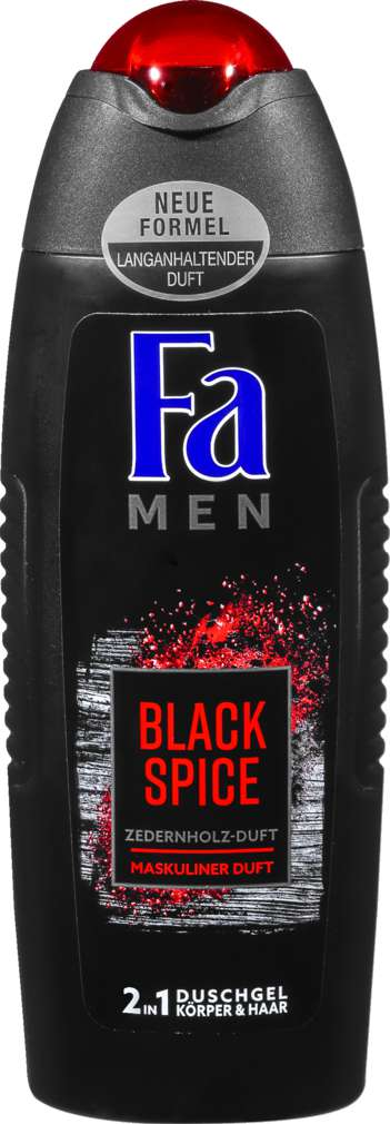 Abbildung des Sortimentsartikels Fa Men Duschgel Black Spice 250ml