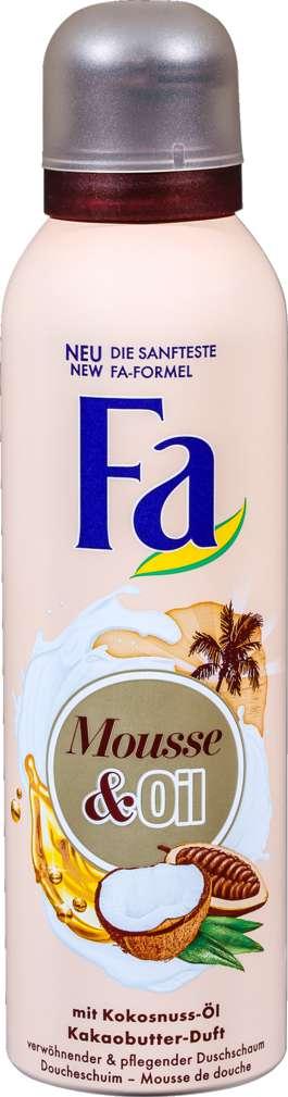 Abbildung des Sortimentsartikels Fa Duschschaum Mousse & Oil Kakaobutter 200ml