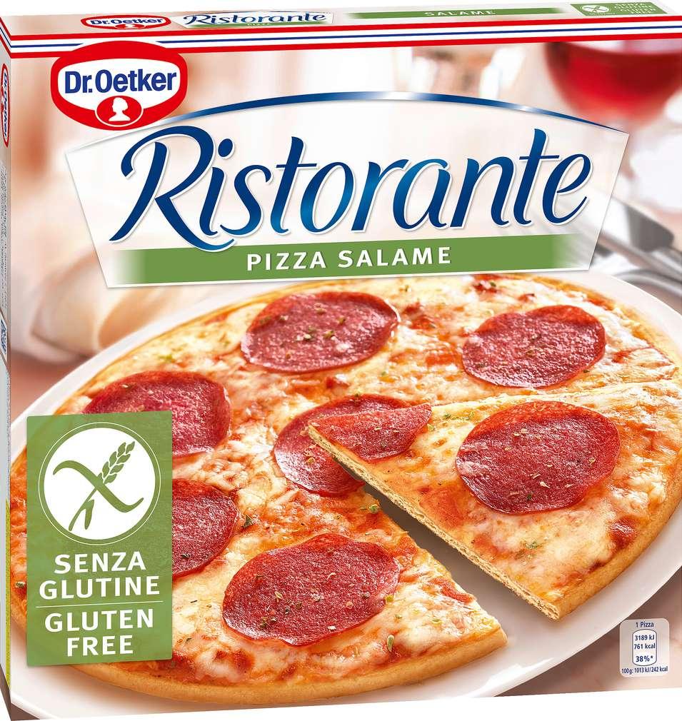 Abbildung des Sortimentsartikels Dr. Oetker Ristorante Salame Glutenfrei 315g