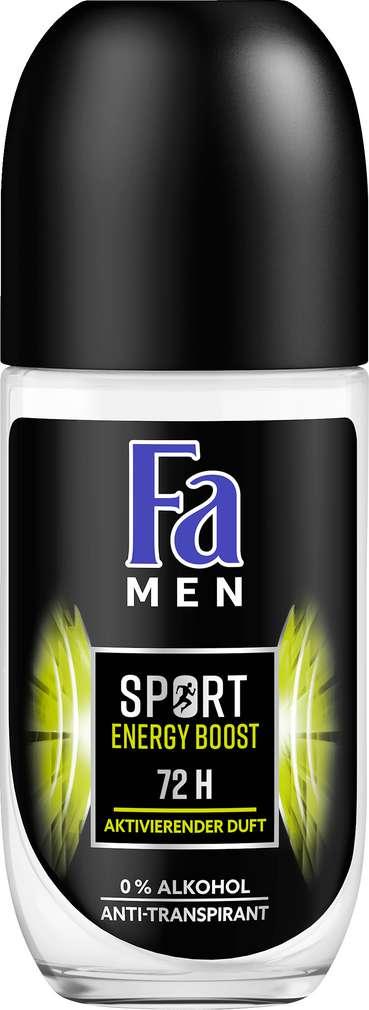 Abbildung des Sortimentsartikels Fa Deo Roll-On Men Energy Booster 50ml