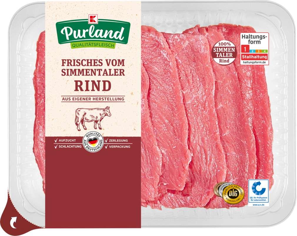 Abbildung des Sortimentsartikels Purland Rinderminutensteak